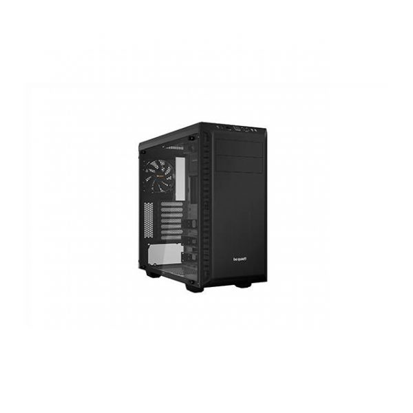 be quiet! Pure Base 600 No Power Supply ATX Mid Tower w/ Window (Black)
