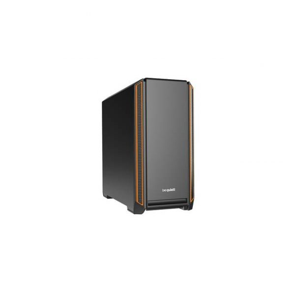 be quiet! Silent Base 601 ORANGE Mid-Tower ATX Computer Case