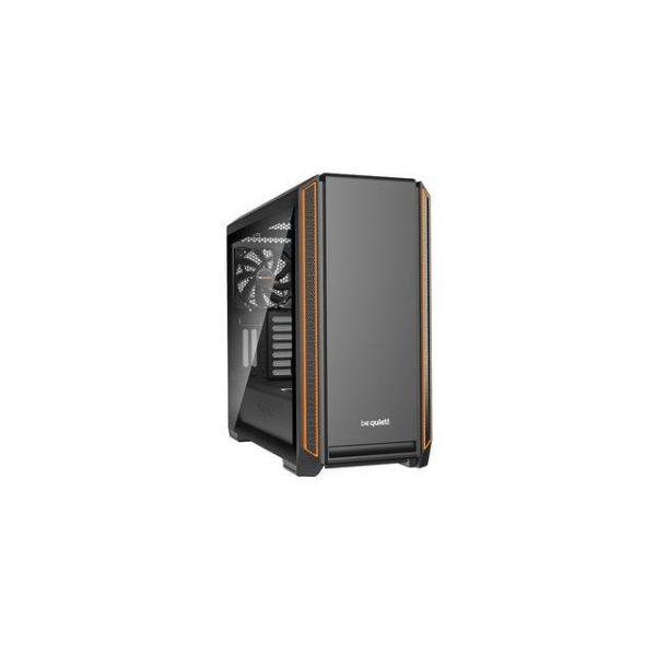 be quiet! Silent Base 601 ORANGE Mid-Tower ATX Computer Case w/ Window