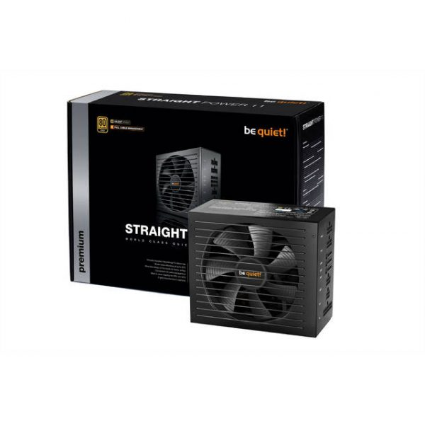 be quiet! Straight Power 11 550W 80 PLUS Gold ATX12V v2.4 & EPS 12V v2.92 Power Supply w/ Active PFC (Black)