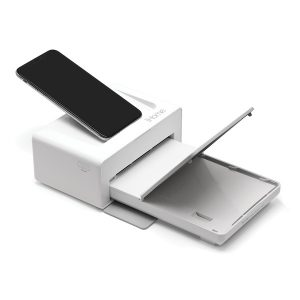iHome IHDP46-W 2-in-1 Photo Printer and Lightning Dock
