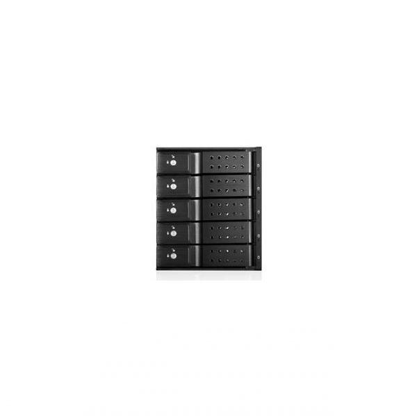 iStarUSA BPN-DE350HD-BLACK 3x5.25 to 5x3.5 12 Gb/s Rack Black