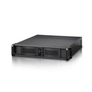 iStarUSA D Storm D-200-FS No Power Supply 2U Compact Stylish Rackmount Server Chassis (Black)