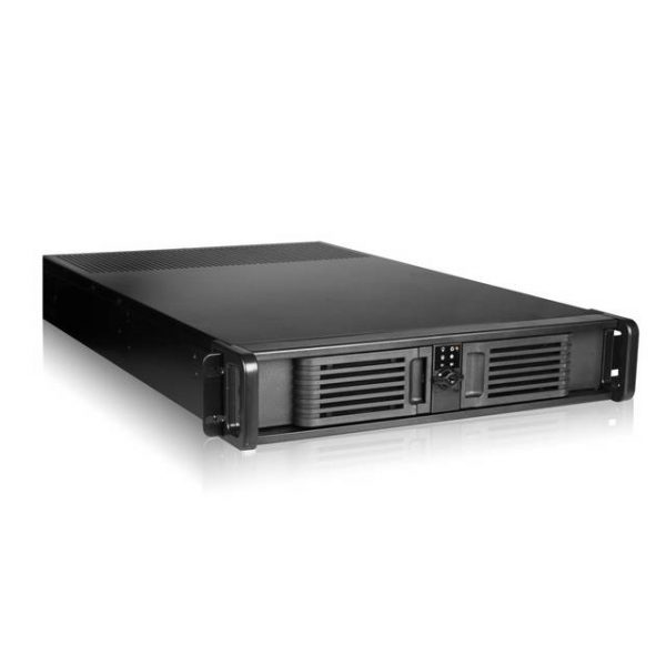 iStarUSA D Storm D-200-PFS Front Mount ATX Power Supply 2U Rackmount Server Chassis(Black)