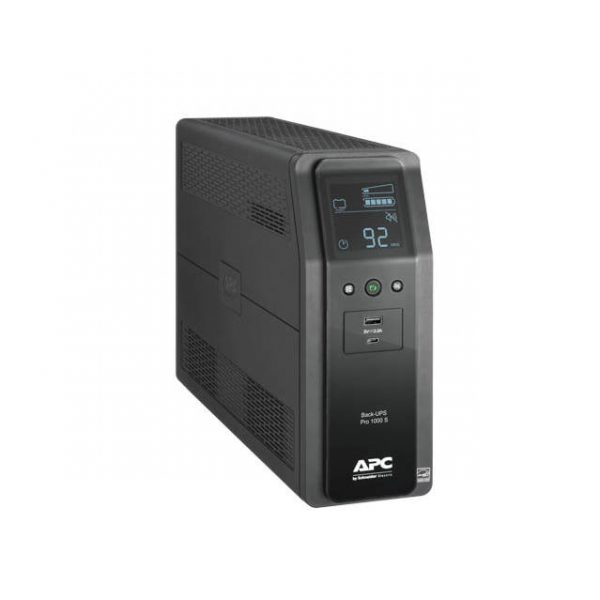 APC Back UPS Pro BR1000MS 10-Outlet 600W/1000VA LCD UPS System
