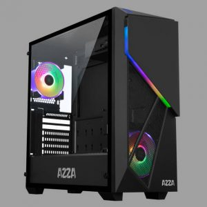 AZZA CSAZ-410A CHROMA ATX Mid Tower Case