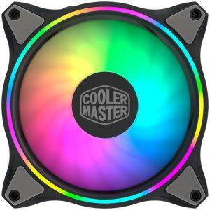 Cooler Master MFL-B2DN-183PA-R1 MasterFan MF120 RGB 120MM FAN 3 PACK w/ HALO OF LIGHT