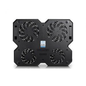 DEEP COOL MULTI CORE X8 Novel Upsurge Multi-Fan Notebook Cooling  Black Butterfly