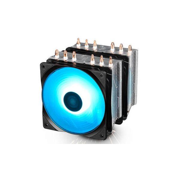DEEPCOOL NEPTWIN RGB 120mm CPU Cooler for Intel LGA2066/2011-V3/2011/1155/1151/1150/775/1366 & AMD Socket AM4/AM3+/AM3/AM2+/AM2/FM2+/FM2/FM1