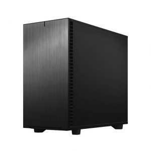 Fractal Design Define 7 Black TG Dark Tint /Brushed Aluminum/Steel E-ATX Silent Modular Dark Tinted Tempered Glass Window Mid Tower Computer Case