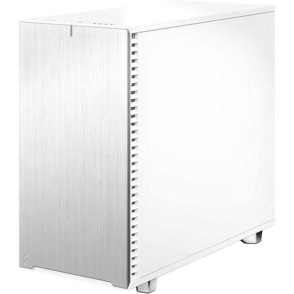 Fractal Design Define 7 White Solid /Brushed Aluminum/Steel E-ATX Silent Modular Mid Tower Computer Case