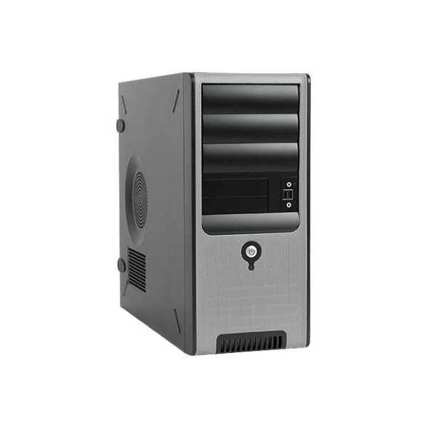 In-Win C583.CH350TB3 350W TAC 2.0 ATX Mid Tower (Black/Silver)