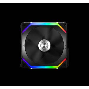 Lian Li UNI FAN SL120 Single Pack Black without Controller (ARGB 120mm LED PWM Daisy-Chain) 12UF1B