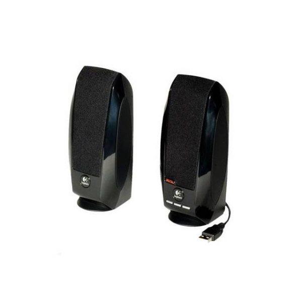 Logitech S-150 Wired USB/1.2 Watts/2.0 Channel Speaker System (Black)