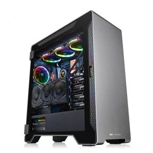 Thermaltake A500 Aluminum Tempered Glass Edition CA-1L3-00M9WN-00 No Power Supply ATX Mid Tower (Space Gray)