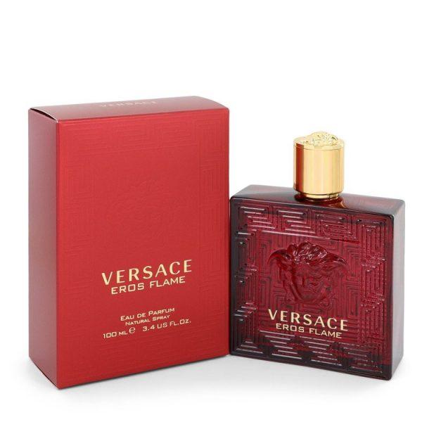 Versace Eros Flame Cologne By Versace Eau De Parfum Spray