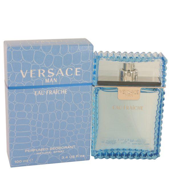 Versace Man Cologne By Versace Eau Fraiche Deodorant Spray