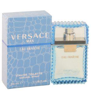 Versace Man Cologne By Versace Eau Fraiche Eau De Toilette Spray (Blue)