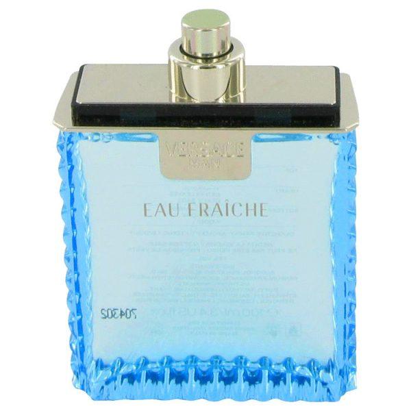 Versace Man Cologne By Versace Eau Fraiche Eau De Toilette Spray (Tester)