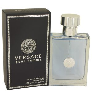 Versace Pour Homme Cologne By Versace Deodorant Spray