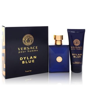 Versace Pour Homme Dylan Blue Cologne By Versace Gift Set