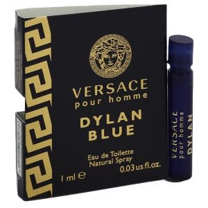 Versace Pour Homme Dylan Blue Cologne By Versace Vial (sample)