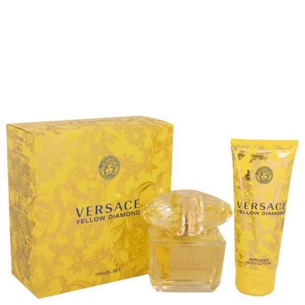 Versace Yellow Diamond Perfume By Versace Gift Set