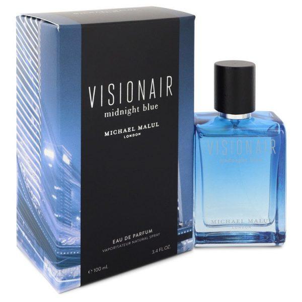 Visionair Midnight Blue Cologne By Michael Malul Eau De Parfum Spray