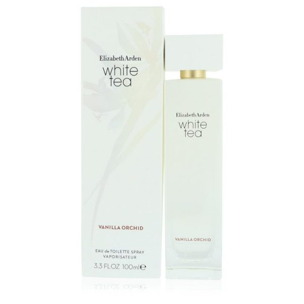 White Tea Vanilla Orchid Perfume By Elizabeth Arden Eau De Toilette Spray