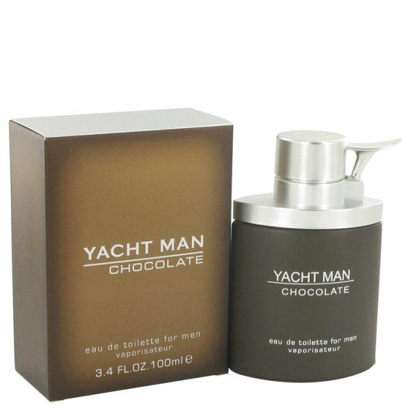 Yacht Man Chocolate Cologne By Myrurgia Eau De Toilette Spray