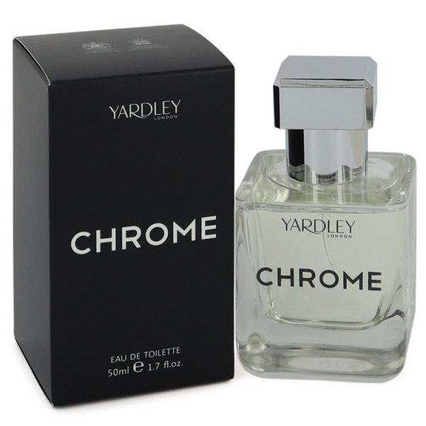 Yardley Chrome Cologne By Yardley London Eau De Toilette Spray