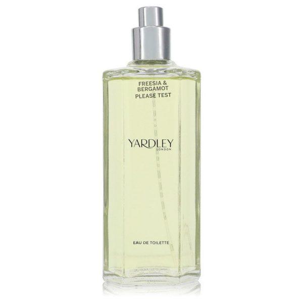 Yardley Freesia & Bergamot Perfume By Yardley London Eau De Toilette Spray (Tester)