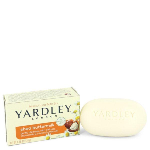 Yardley London Soaps Perfume By Yardley London Shea Butter Milk Naturally Moisturizing Bath Soap