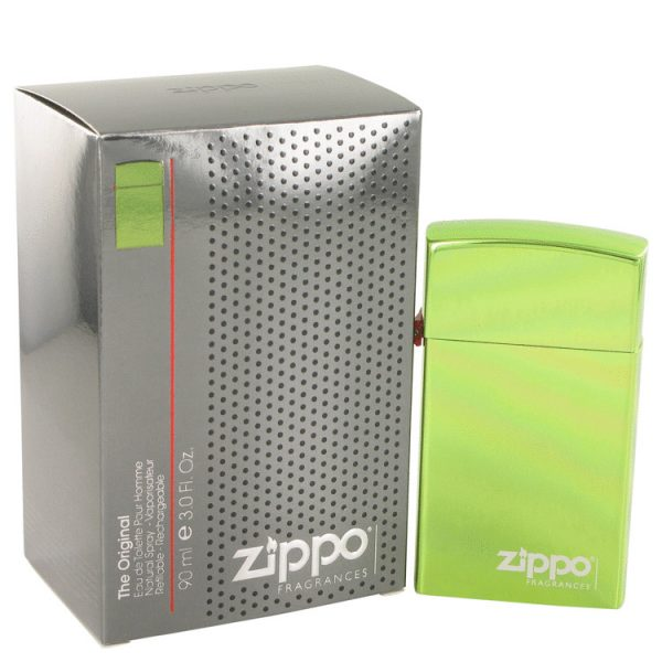 Zippo Green Cologne By Zippo Eau De Toilette Refillable Spray